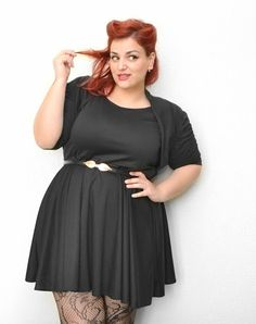Could I pull this look off??? Curvy World: Acquisti su Ebay - Pin Up Plus Size Outfit