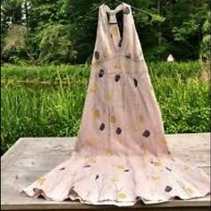 HD in Paris Floral Maxi Sz 12 Anthropologie HD in Paris dress. Fully lined. 100% cotton. Anthropologie Dresses Maxi