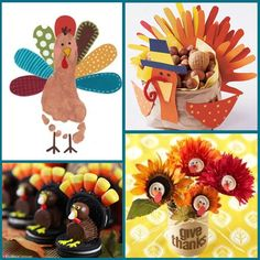 Thanksgiving Craft Ideas Pinterest | Thanksgiving: Turkey Crafts - Mimi's Dollhouse