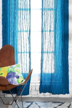 Magical Thinking Crinkle Gauze Curtain - Urban Outfitters
