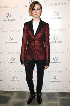 Evan Rachel Wood in Moschino Cheap and Chic