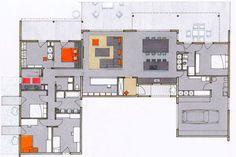 200 m2 pour cette maison en bois pleine dides - Plan Maison Plain Pied 200m2