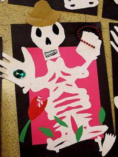 Name Skeletons: Art for Dia de Los Muertos | por eclectic_chica