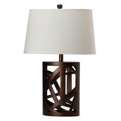 Coaster Fine Furniture Table Lamp W/ Shade Warm Brown 901256