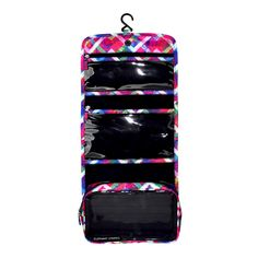 Floral Chevron Hanging Toiletry Bag   Elephant Stripes   Travel in Style