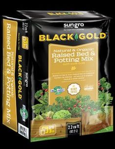 Fill your raised beds with the best natural & organic mix for outstanding results. Use Black Gold® Natural & Organic Raised Bed & Potting Mix! It is designed especially for growing edibles in raised beds and large container plantings. Use it to grow your favorite vegetables, herbs, and small fruits Garden Soil, Raised Garden Beds, Raised Beds, Container Vegetables, Container Plants, Large Containers, Types Of Soil, Amazing Gardens