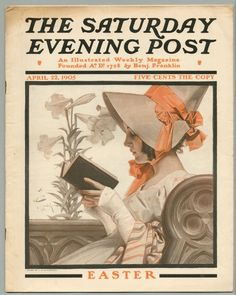 SATURDAY EVENING POST  ILLUSTRATED BY J.C. LEYENDECKER APRIL 22, 1905