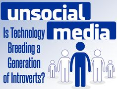 """Social media and Internet users are more likely to feel depressed by a form of """"social stress"""". Get the details and break free from stereotypes with this infographic!"""
