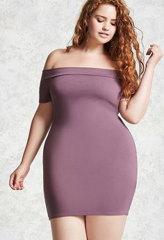 Female Fashion and Style for Woman plus size #Plussize #plussizefashion #ad FOREVER 21+ Plus Size Mini Bodycon Dress