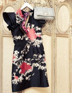 Erdem also has taken up some space in my closet-his look is so fresh, modern and feminine.