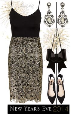 """New Year's Eve (Contest)"" by boho-at-heart on Polyvore"