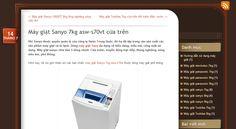 Hôm nay, tôi xin giới thiệu với các bạn chiếc máy giặt Sanyo 7kg asw-s70vt thuộc dòng máy giặt phổ thông. http://maygiatsanyo7kg.wordpress.com/2014/07/14/may-giat-sanyo-7kg-asw-s70vt/