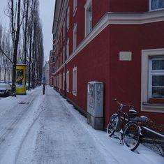 munich | germany | münchen | deutschland | winter in der regerstraße in der oberen au