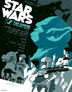 The Empire Strikes Back | tom whalen : strongstuff.net