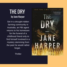 """Looking for a new book to read? One of our librarians highly recommends """"The Dry"""" by Jane Harper."""