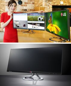 Talk about widescreen! LG to Launch the World's First 21:9 LCD Monitor.