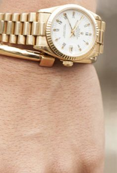 A classic gold wristwatch completes every outfit. Find women's Rolex watches and shop more arm candy inspiration on eBay.