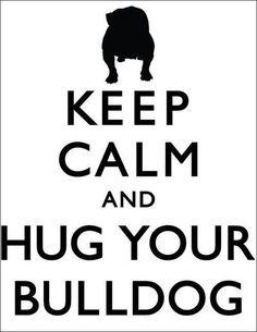 Twitter / BaileyBulldog: Keep calm... #bulldog ...