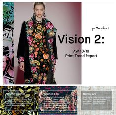 Vision 2: Autumn/Winter 2018/19 Print Trend Report | Patternbank