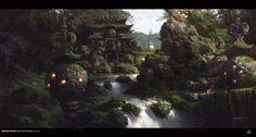 40 concept arts éblouissants du digital painter chinois Yang Qi | Design Spartan : Art digital, digital painting, webdesign, ressources, tutoriels, inspiration
