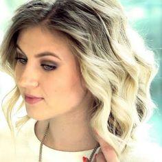 Enjoyable How To Curl With Straightener Short Medium Hair Tutorial Hairstyles For Women Draintrainus