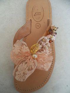Elli's Shoes & Sandals: salmon ariadni