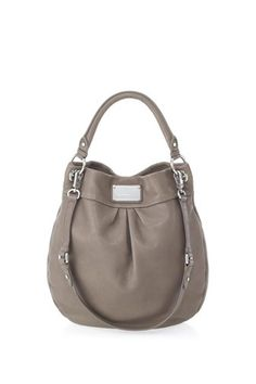 Marc by marc jacobs classic q hiller hobo in hazelnut