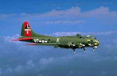 """The Boeing B-17G Flying Fortress """"TEXAS RAIDERS"""" is owned and is supported by The Commemorative Air Force (CAF), a non-profit organization, whose headquarters are in Midland, Texas. This famous World War II aircraft is crewed and maintained by the Gulf Coast Wing, CAF, based in Houston, Texas."""