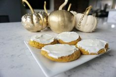 Pumpkin Cheesecake Sugar Cookies