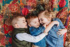fall sibling photo