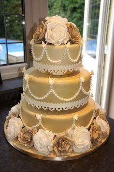 lovely anniversary cake (50th)