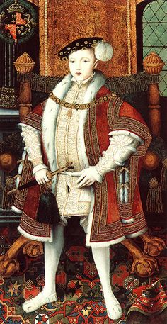 King Edward VI of England - only son of Henry VIII and Jane Seymour.