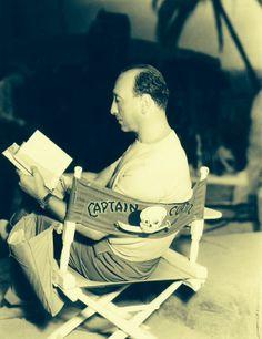 Michael Curtiz on set during 'Captain Blood' (1935) ...