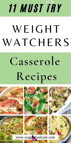 11 Weight Watchers Casserole Recipes With SmartPoints – Easy WW Casserole Freestyle Easiest 11 Weight Watchers Casserole Recipes With SmartPoints. I've included Weight Watchers Casserole Chicken, Pasta, and Weight Watchers Casserole Vegetarian recipes. You will love my Weight Watchers Casserole Freestyle recipes, they are so good. #weightwatcherscasserole #weightwatchersrecipes #weightwatcherssmartpoints #weightwatcherscasserolerecipes<br> LOVE? Easy Weight Watchers Casserole Recipes With…