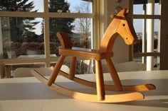Kay Bojesen, Denmark -  Rare rocking horse. Danish modern on Etsy, $590.00