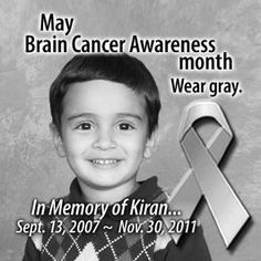 It is even sadder and more senseless when this evil disease takes an innocent child.