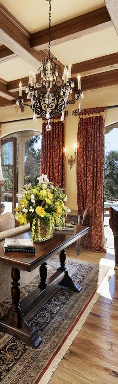 From Italy: Tuscan Living Room Ideas | Tuscan living rooms, Living ...