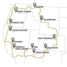 Ultimate Guide To The Scenic Parks Along The National Park-To-Park Highway I planned this exact roadtrip when I was 16 not knowing that it was the national park route! Rv Travel, Travel List, Adventure Travel, Places To Travel, Travel Goals, Travel Gadgets, Funny Travel, Texas Travel, Michigan Travel