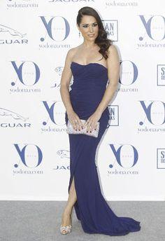 Eva Marciel in Blumarine - Premios Internacionales Yo Dona 2013