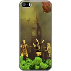 """Phone Case """"London Circus"""" Par Eric Lapierre"""