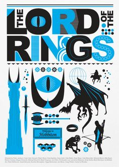 The Lord of the Rings A3 Poster Print by Posterinspired on Etsy