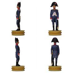 """Oficial de infantería ligera de la colección """"Napoleón Ajedrez : la batalla de Jena"""" de Altaya - Subido desde www.elgrancapitan.org"""