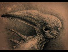 Alien: Covenant sequel in trouble? Giger Art, Hr Giger, Alien Covenant, The Covenant, Alien Vs Predator, Sci Fi Horror, Xenomorph, Visionary Art, Fantastic Art
