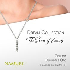 https://itcportale.it/?p=7181  Collana Dream Collection: The Sense of Luxury Scopri lo STORE PARTNER piu' vicino a te su ItcPortale.it