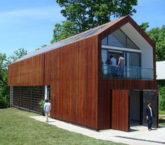 "Sustainable Home Ideas - Eco Friendly Architecture Idea by Studio 804 ""A modern take on the Barn style"""