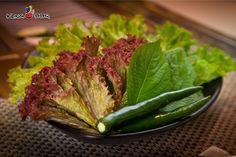 Các món rau ăn kèm rất ngon mắt và sạch sẽ tại King BBQ