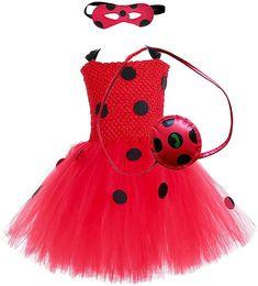 Miraculous Ladybug Party Supplies, Miraculous Ladybug Costume, Miraculous Ladybug Anime, Little Girl Toys, Toys For Girls, Cumpleaños Lady Bug, Ladybug Tutu, Diy Lace Ribbon Flowers, Girl Birthday