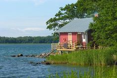 The Aland Archipelago ~composed of thousands of islands ~ House By The Sea, Life Plan, Baltic Sea, Open Water, Places Of Interest, Wooden Boats, Archipelago, Island Life, Beautiful Islands