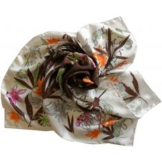 soie, seta, écharpe, carré, scarf, sciarpa, seidentuch, made in italy, collection, foulard, longchamp paris