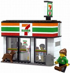 Every LEGO city should have a 7-Eleven. What more could you ask for?